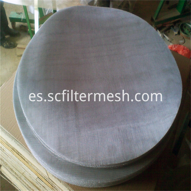 Round Stainless Off-cut Mesh
