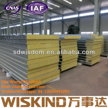 Glass Wool Sandwitch Panel with ISO9001