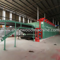 3 Deck Roller Veneer Drying Machine