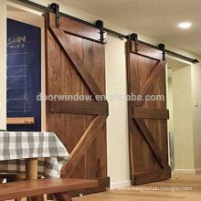 North central US OAK wood sliding door indoor doors for a house