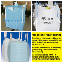 Static Dissipative Type D Bags for Chemical Goods