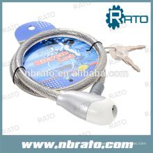 RBL-106 câble serrure de roue en acier pour moto