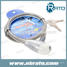 RBL-106 cable steel wheel lock for motorcycle