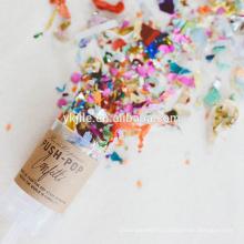 La canette de Canfetti de vente chaude de décoration de partie de mariage qui respecte l'environnement