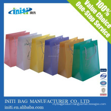 China wholesale cheap fashion Carry Kraft paper Bag