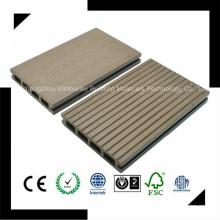 Made in China Fabrik Direktverkauf Wasserdichte Recycling Holz Kunststoff Composite WPC Outdoor Bodenbelag 125 * 23
