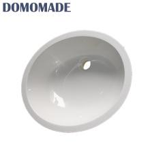 Im Freien ovale geformte kleine Handwaschbeckenwannen des neuen Unterzählers