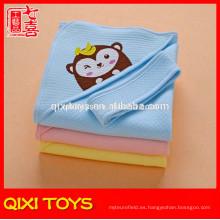 100% poliéster súper suave hecho a mano mantas para bebés en venta
