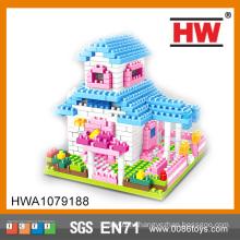 Образовательные дети Self-сборки счастливый дом блоков серии игрушки