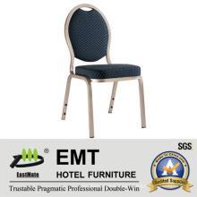 Metal Frme Mobiliario para hoteles populares Benquet Chair (EMT-507)