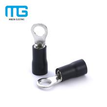 Terminal de anillo de PVC con aislamiento de cable eléctrico de aluminio