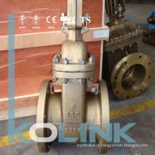 Válvula de porta de bronze C95500 C95200 C95800