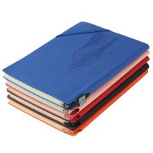 A5 Logo Customized PU Leather Diary Note Book Custom Hardback Paper Journal Notebook
