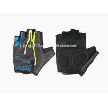 Cycling Half Finger Sports Bike Bicycle Cycle Sports Equipment Glove Gel Padding Gift Mountain Bike Fingerless Sports Wear Jg13m045