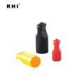 PVC cable grand Shroud, plastic insulated cable marker sleeve, cable protection insulated end cap