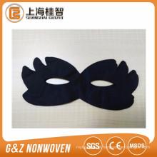 máscara de olho não tecido preto cor de máscara de olho cosmético preto