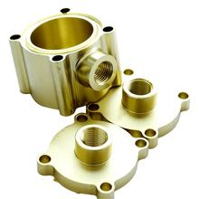 Custom rapid prototype brass forged and machined parts