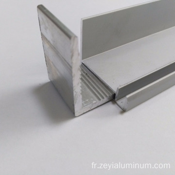 6063 T5 anodised solar panel aluminum frame extrusions