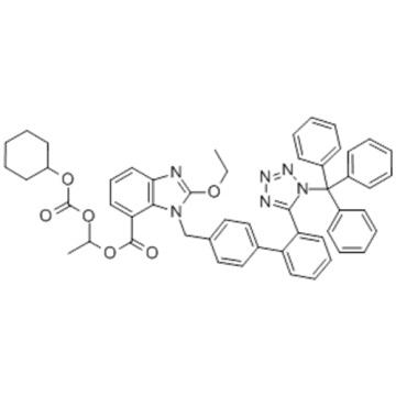Trityl candesartan cilexetil CAS 170791-09-0