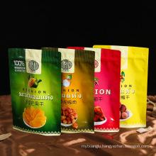 Custom Snack Food Plastic Packaging Bag Aluminum Foil Ziplock Bag Wholesale