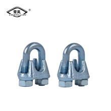 US Typ DIN741 DIN1142 formbarer Drahtseilclip