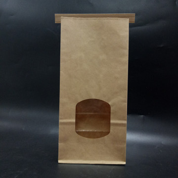 Emballage alimentaire Sac de papier à pain Tin Tie