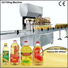 Máquina automática de llenado de botellas de aceite de oliva