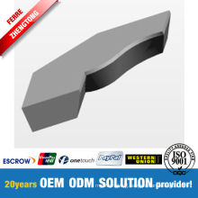 Low Friction Coefficient Carbide Blade Profile Design