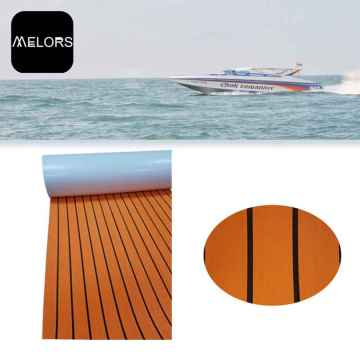 Melors Synthetic Teak Flooring Boot EVA Marine Blatt