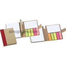 Notebook de papel promocional mini-escritório pegajoso Memo Pad