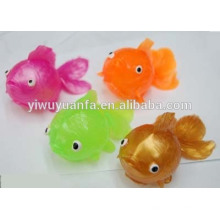 High Quality Colorful Goldfish Sticky Water Ball Toy