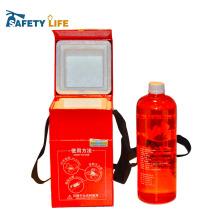 usar e jogar garrafa / use e jogue garrafa de água / tipo de equipamentos de combate a incêndio