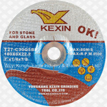 """Resin Grinding Wheel/Grinding Disc for Stone and Glass 7"""" 180X6X22.2mm"""