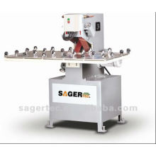 glass grinder machine for grinding before further processing