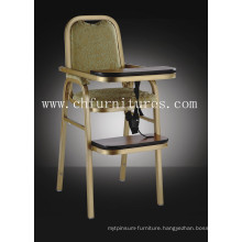 Aluminum Hotel Baby Chair (YC-H007)