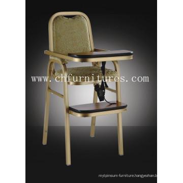 Aluminum Hotel Baby Chair (YC-H007)