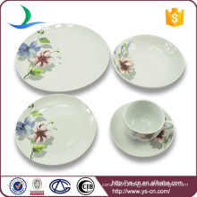 Modern porcelain wedding crockery with best quality dinner set, tea set