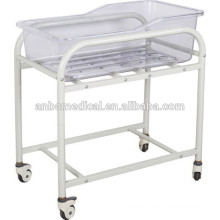 Hot Sale epoxy power coated material hospital baby bed