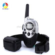 1000 M Pet Dog Training Collar Training Pet Collar Dog Trainer Resistente À Água Recarregável LCD Controle Remoto Choque Elétrico Do Cão