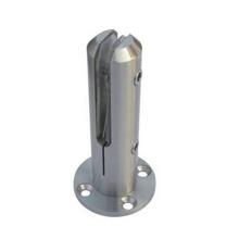 Abraçadeira de vidro de espigão duplo de qualidade premium para queda de preço grande Abraçadeira de espigão dupla de vidro de qualidade premium