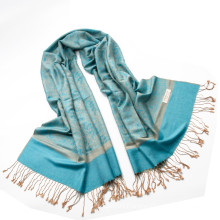 Best Selling Paisley Infinity Scarf Female Jaquard Stole Long Hijab Wrap Ladies Tippet