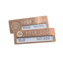 Professional Supplier Personalized Custom Engraved Sheriff Badge Lapel Pins With Backing Card