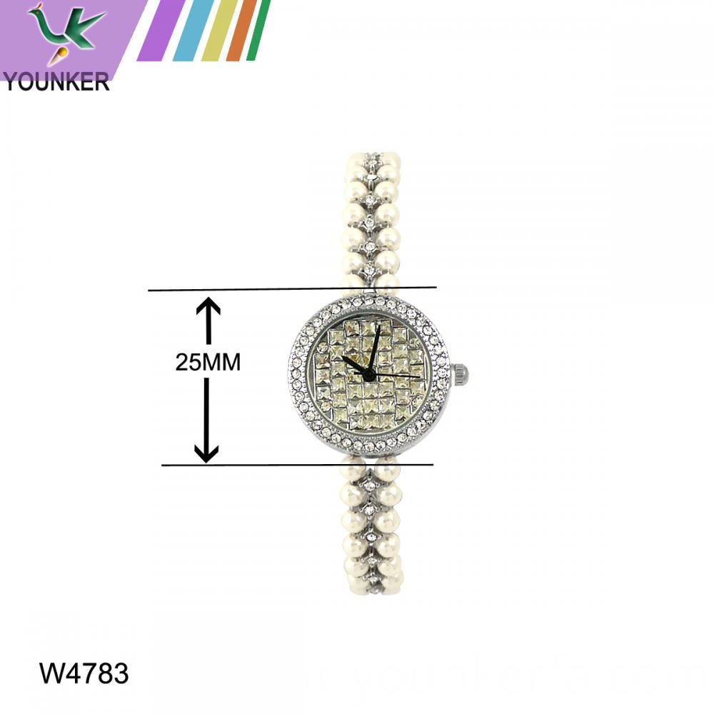 Ladies Stone Bracelet Watch