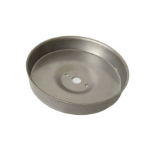 Ningbo custom polished stainless steel stamping cover deep drawn stainless steel deep drawing lock cover / end cover