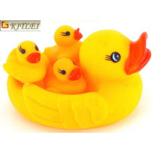 Eco-Friendly PVC Bath Toys Floating Ducks PVC Bath Baby Toy Duck