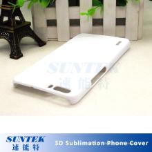 Cas de couverture de téléphone portable de film de transfert de sublimation pour 2D 3D