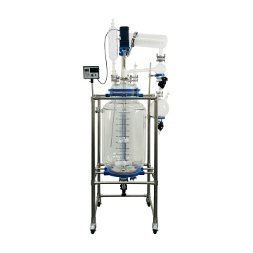 Large Chemical Laboratory Equipment  150L Jacketed Glass Reactor With Best Price