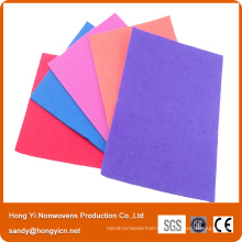Multi-Color Needle Punched Nonwoven Fabric Cleaning Cloth