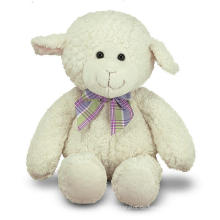 Flauschige weiche Spielzeug Gefüllte Tier Spielzeug Weiß Fat Plüsch Schaf