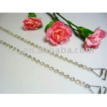 clear single row rhinestone bra straps